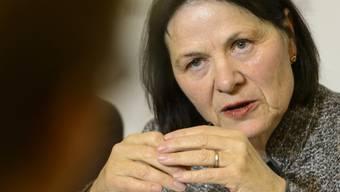 """Esther Waeber-Kalbermatten funktioniere in der Walliser Regierung als das """"soziale Gewissen"""", sagte der ehemalige SP-Regierungsrat Thomas Burgener laut Medienmitteilung. (Archivbild)"""