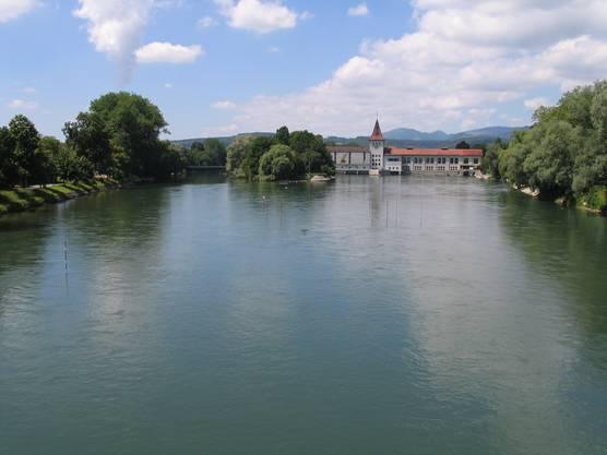 Aare in Aarau