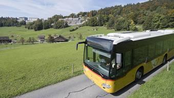 Aussen sind alle gelb, doch viele Postautos gehören privaten Fuhrhaltern.