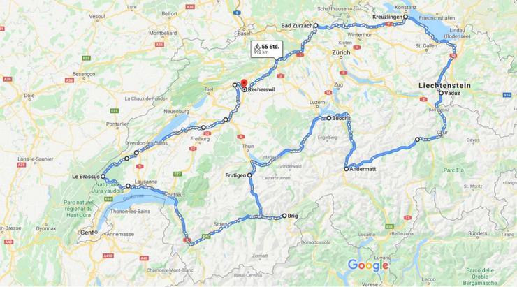 Die Tour de Suisse im Überblick