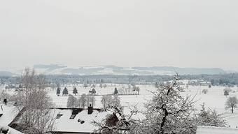 Schnee-Leserbilder von Facebook