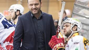 Interims-Coach Martin Steinegger feierte bei seiner Premiere mit Biel gleich einen Sieg