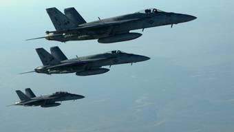 US-amerikanische Kampfflugzeuge. (Archiv)