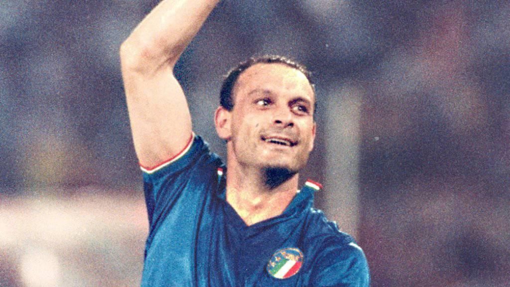 Hatte an der WM 1990 im Dress der Squadra Azzurra seine Sternstunden: Toto Schillaci