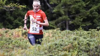 Schnell unterwegs: Judith Wyder lief an der OL-EM zum Sieg im Sprint