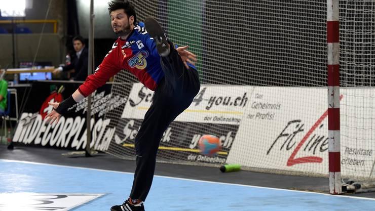 Noch einmal zeigte Basels Goalie Pascal Stauber zum Abschluss seiner Karriere seine Klasse.