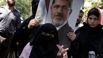 Demonstration für die Wiedereinsetzung Mohammed Mursis