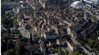 Die Altstadt von Aarau: Nur zwei Kandidaten wollen Guignard beerben