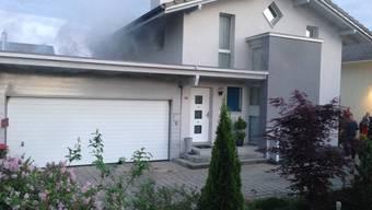 Oftringen: Garagen-Brand verursacht hohen Sachschaden