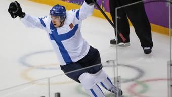 Jussi Jokinen glänzt bei seinem Debüt mit Kloten (Archivbild)