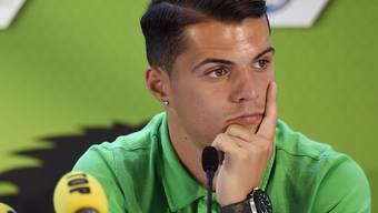 Nachdenklicher Granit Xhaka: Verlässt der Schweizer die Borussia zeitnah?