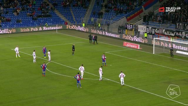 76. Tor auf Penalty durch Kevin Bua (FC Basel 1893)