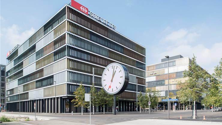 SBB-Hauptsitz in Bern-Wankdorf: Angeklagte Firma war am Bau beteiligt.