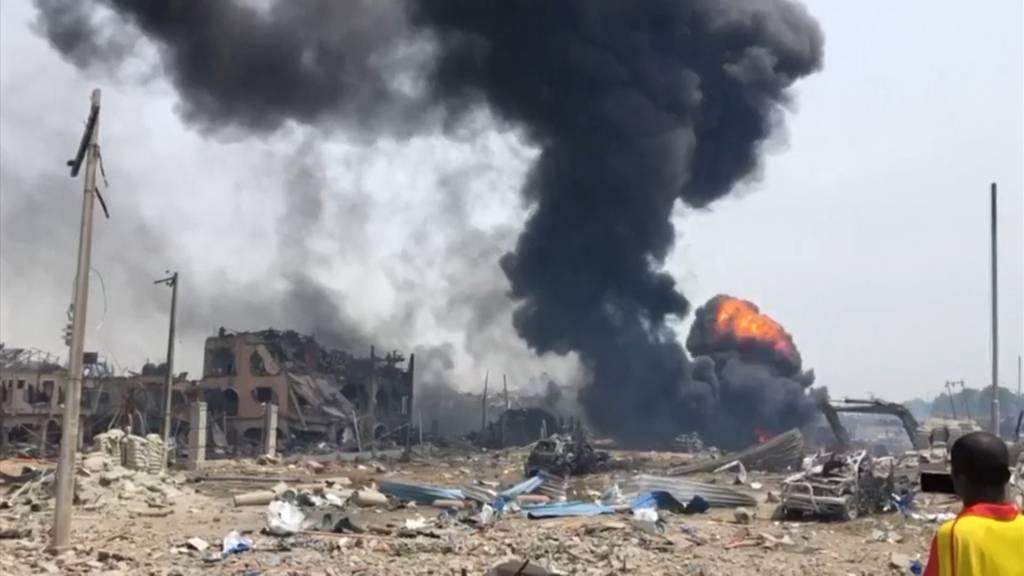 15 Tote bei verheerender Explosion