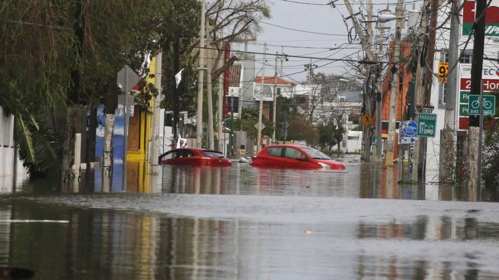 Nach den Verwüstungen und Überschwemmungen durch Hurrikan «Maria» droht in Puerto Rico nun auch noch ein Dammbruch.
