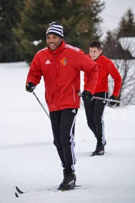 Die beiden Neuen: Geoffroy Serey Die und Raul Bobadilla.