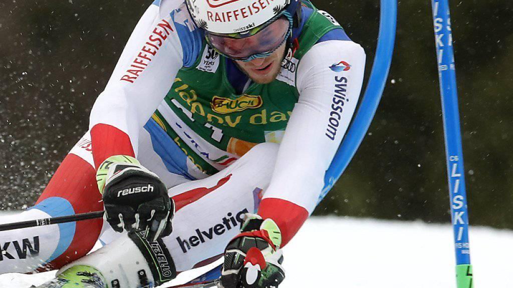 Elia Zurbriggen fuhr in den letzten Wochen von Erfolg zu Erfolg