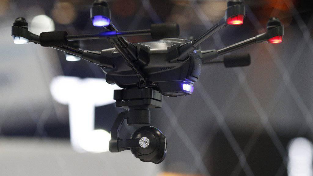 Drohnenfliegen ist jetzt auch eine Sportart.