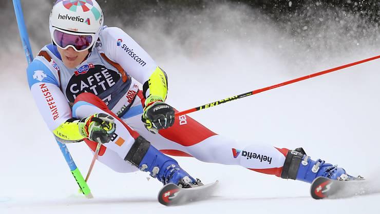 Marco Odermatt - in Alta Badia die grosse Überraschung des ersten Laufs