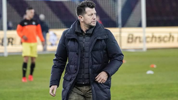 Sportchef Mathias Walther muss den Hut nehmen.