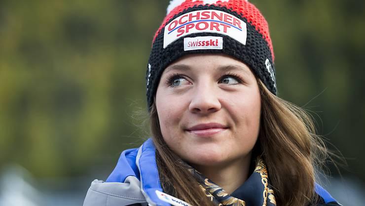 Die 20-jährige Schwyzerin Jasmina Suter gewann in Sotschi ihre erste Medaille an Junioren-Weltmeisterschaften