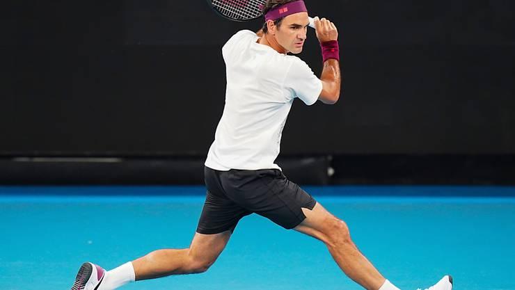 Roger Federer weilt schon seit mehr als einer Woche in Melbourne