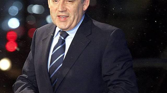 Der britische Regierungschef Gordon Brown ist empört