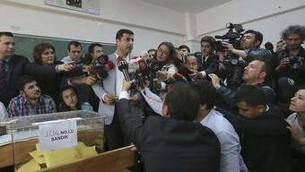 Selahattin Demirtas von der pro-kurdischen HDP