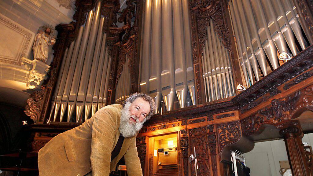 Letzter Luzerner Orgelsommer mit Wolfgang Sieber