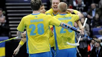 Die Schweden setzten sich nur knapp durch
