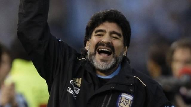 Will bei einem WM-Triumph die Hüllen fallen lassen: Diego Maradona