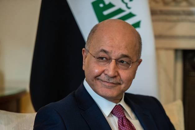 Barham Salih, Präsident Irak