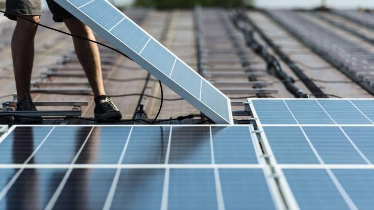 Fotovoltaik-Anlage (Themenbild).