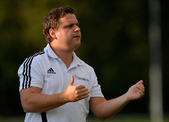Subingens Trainer Dominik Ellenberger