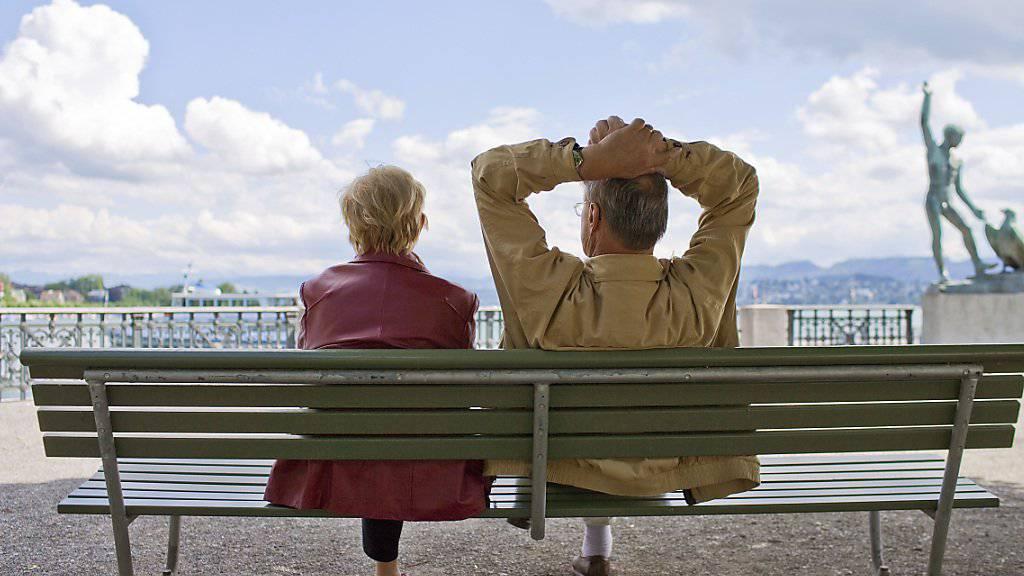 Rentenalter 67? Ein Erhöhung um zwei Jahre dürfte nach dem Volks-Nein am Sonntag wieder aufs Tapet kommen.  (Symbolbild)