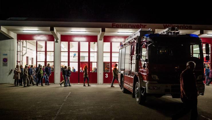 Rund 60 Personen fanden sich am Mittwochabend im Feuerwehrmagazin Wiemel ein.