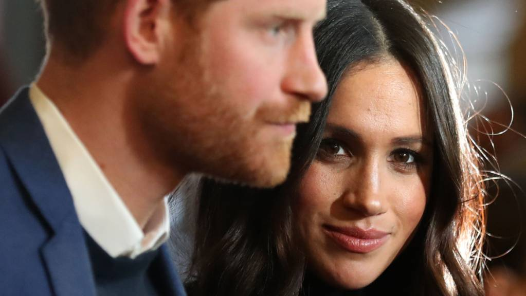 Meghan, Herzogin von Sussex und ihr Mann, Prinz Harry. (Archivbild) Foto: Andrew Milligan/PA Wire/dpa