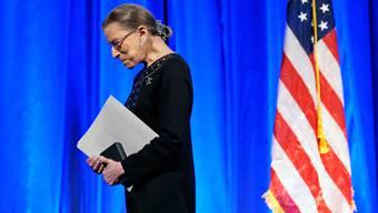 Ruth Ginsburg ist im Alter von 87 Jahren verstorben.