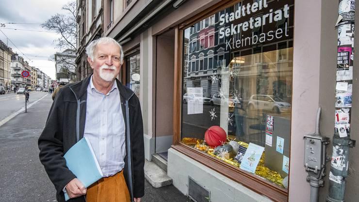 Urs Joerg, Präsident des Trägervereins Stadtteilsekretariat Kleinbasel
