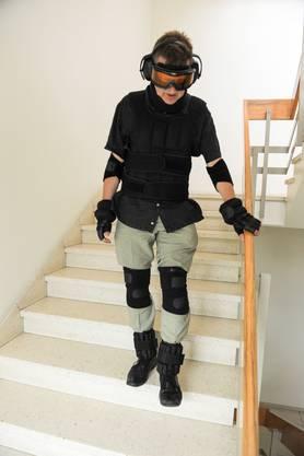 Treppensteigen wird zur Herausforderung.