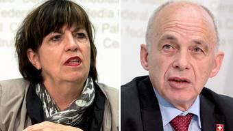 VGB-Vizepräsidentin Maria Bernasconi kritisiert den Personal-Sparkurs von Finanzminister Ueli Maurer und dem Parlament.
