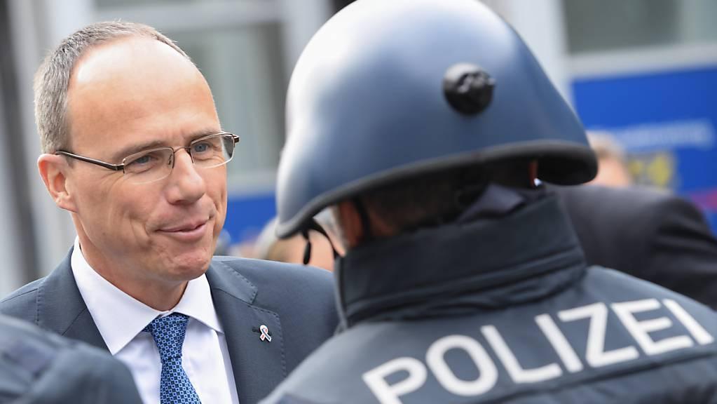 Der hessische Innenminister Peter Beuth (CDU). Foto: Arne Dedert/dpa