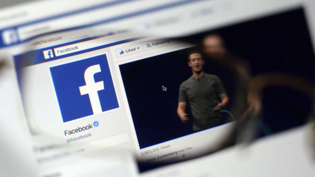 80 Millionen neue Mitglieder in drei Monaten: Das soziale Netzwerk Facebook wächst und wächst. (Archivbild)