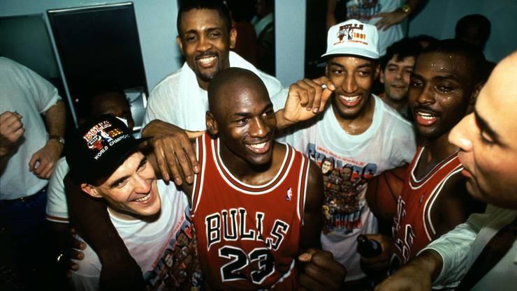 Michael Jordan wurde in den 1990er-Jahren zur kulturellen Ikone.