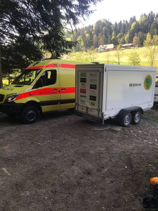 Ambulanz vor Ort