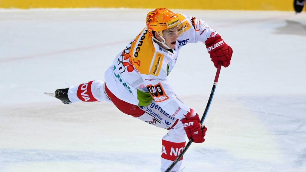 Dominik Egli ist einer von sieben Neulingen