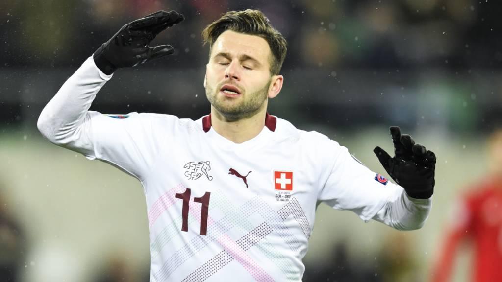 Renato Steffen wird der Schweizer Nati nicht zur Verfügung stehen