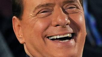 Der italienische Regierungschef Silvio Berlusconi