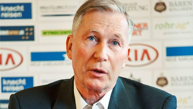 Präsident Alfred Schmid: «Der nächste Schritt wäre nun die Aufstockung der Super League auf 12 oder 14 Teams.»
