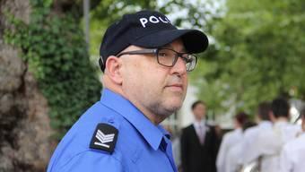 Nach 37 jahren war Walter Krenn zum letzten Mal als Polizist am Rutenzug im Einsatz